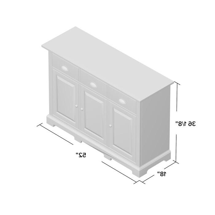 Fortville Sideboard For Current Fortville Sideboards (View 3 of 20)