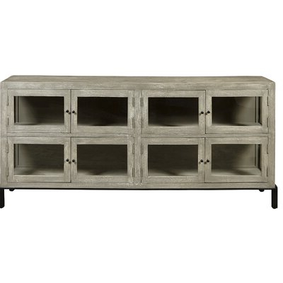 Foundry Select Press Farmhouse 8 Door Display Console Within Preferred Sideboards By Foundry Select (View 4 of 20)