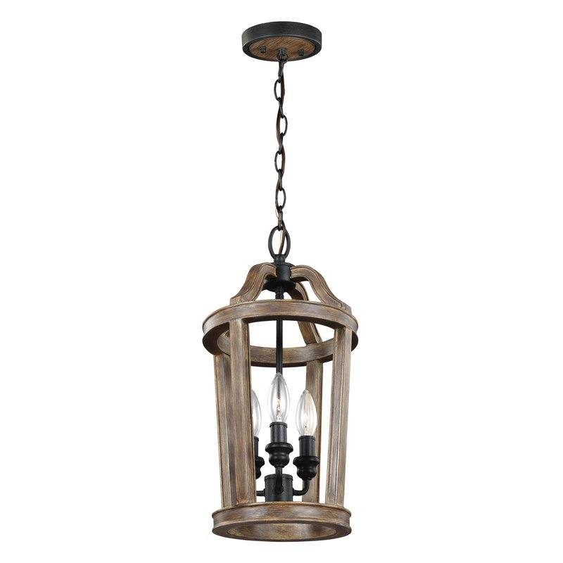 Freeman 3 Lights Lantern Geometric Pendant Pertaining To Most Popular Freeburg 4 Light Lantern Square / Rectangle Pendants (View 13 of 30)