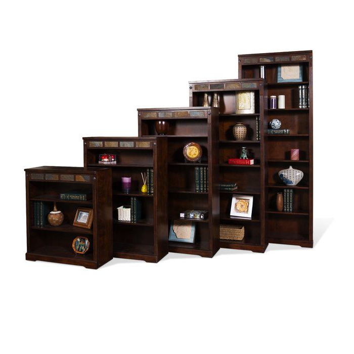 "Fresno Standard Bookcases Inside Well Known Loon Peak Fresno 36"" Standard Bookcase & Reviews (Gallery 6 of 20)"