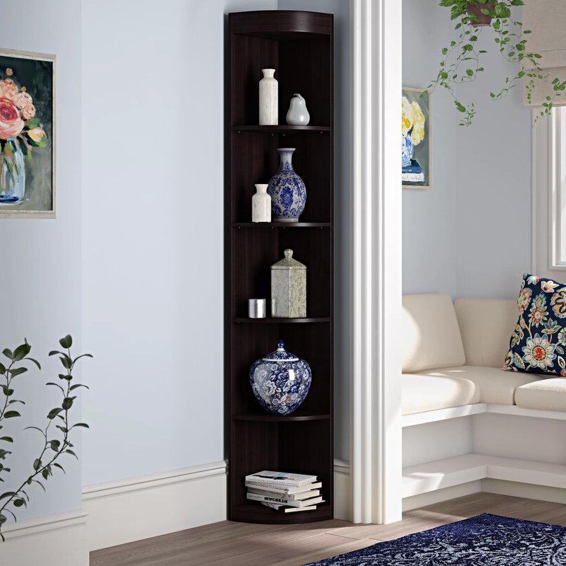 Fuhrmann Corner Bookcases Regarding Preferred Fuhrmann Corner Bookcase (Gallery 5 of 20)