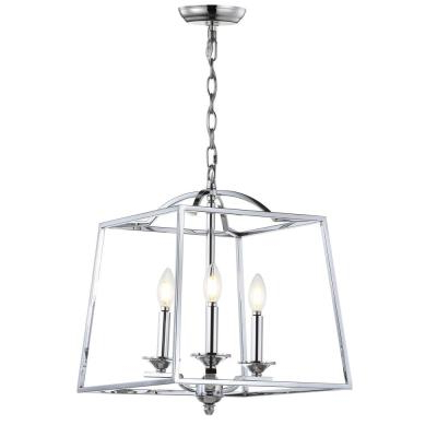Gabriella 3 Light Lantern Chandeliers With Regard To Well Known Lantern – Chandeliers – Lighting – The Home Depot (View 11 of 30)