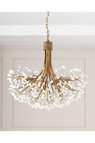 Gaines 5 Light Shaded Chandeliers Pertaining To 2020 Chandelier & Pendant Lighting At Neiman Marcus (View 13 of 30)
