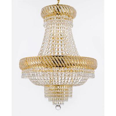 Gaines 9 Light Candle Style Chandeliers Regarding Well Liked Filament Design Knowsley 9 Light Gold Dust Chandelier Cli (View 30 of 30)