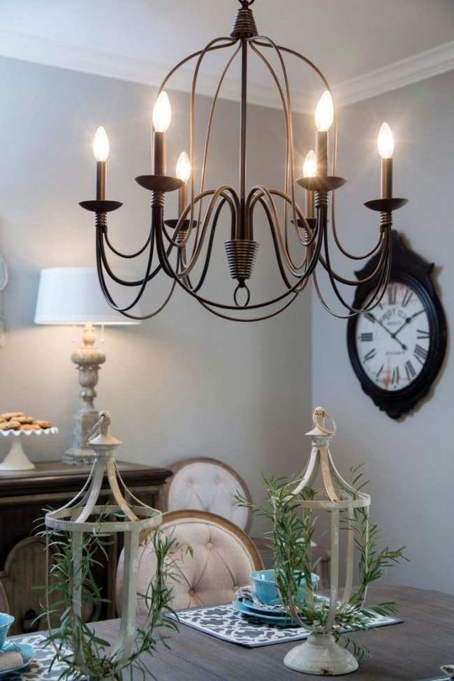 Gaines 9 Light Candle Style Chandeliers With Popular Fixer Upper Lighting For Your Home (View 7 of 30)