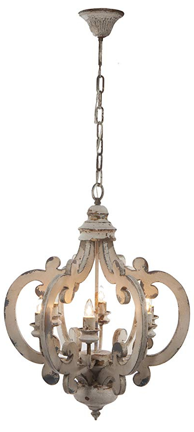 Gaines 9 Light Candle Style Chandeliers With Well Known A&b Home Wood And Metal Chandelier,  (View 16 of 30)