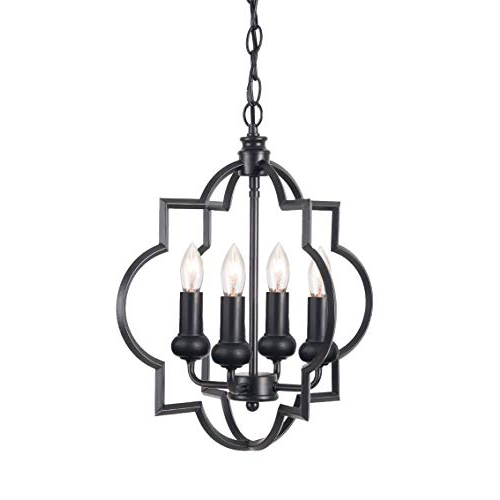 Geometric Chandelier: Amazon Intended For Most Recently Released Kaycee 4 Light Geometric Chandeliers (View 6 of 30)