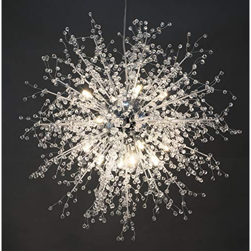 Geometric Chandelier: Amazon Pertaining To 2019 Kaycee 4 Light Geometric Chandeliers (View 7 of 30)