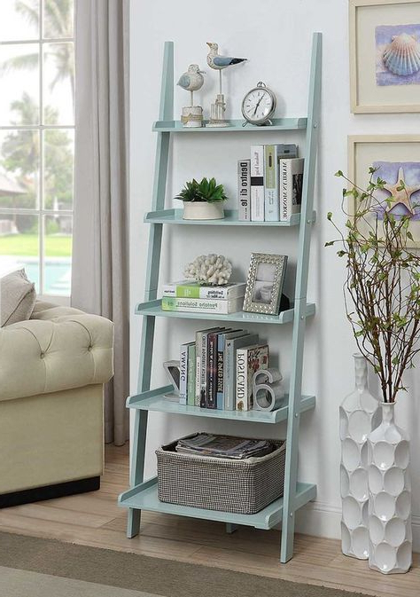 Gilliard Ladder Bookcases Pertaining To Most Popular Gilliard Ladder Bookcase In (View 13 of 20)