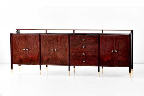 Giulia 3 Drawer Credenzas Within Most Popular Rosewood Sideboardcarlo De Carli, (View 16 of 20)