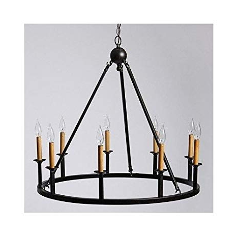 Giverny 9 Light Candle Style Chandeliers For Preferred Old World 9 Light Rustic Chandelier – – Amazon (View 14 of 30)
