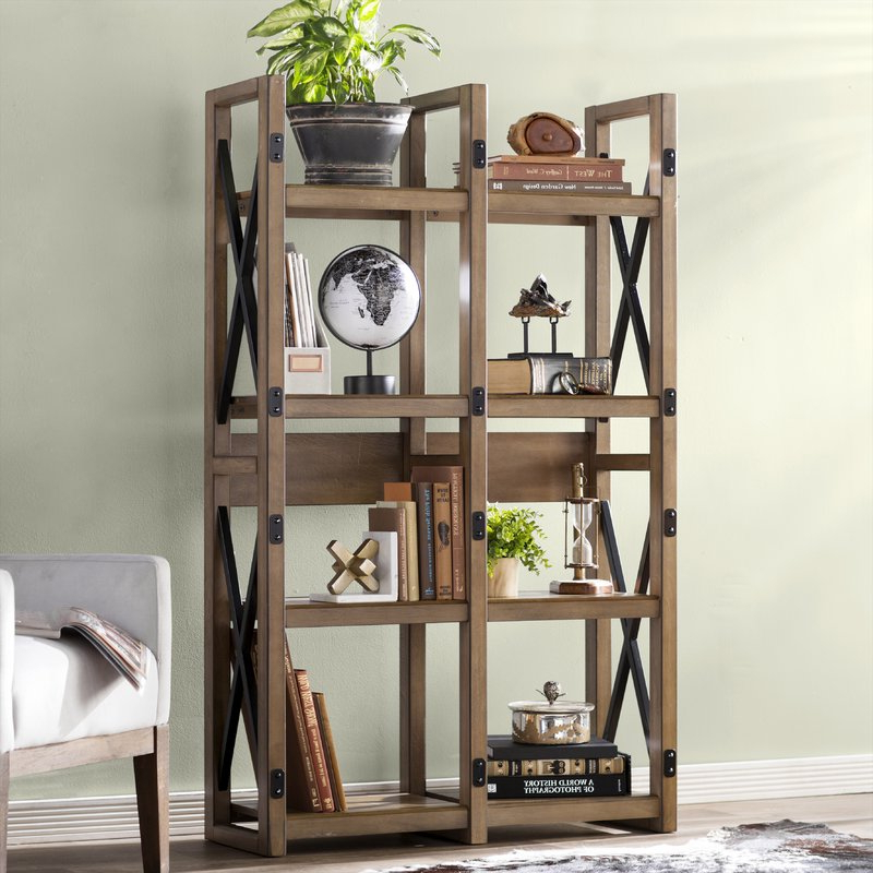 Gladstone Etagere Bookcase Inside Most Up To Date Woodcrest Etagere Bookcases (View 1 of 20)