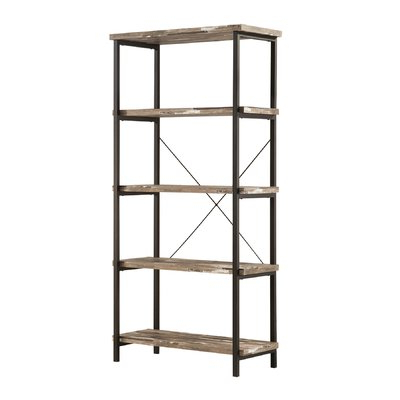 Gladstone Etagere Bookcases For Well Known Laurel Foundry Modern Farmhouse Epine Etagere Bookcase (View 9 of 20)