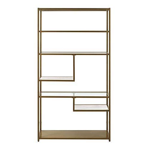 Gladstone Etagere Bookcases Within Widely Used Etagere Bookcase: Amazon (View 15 of 20)