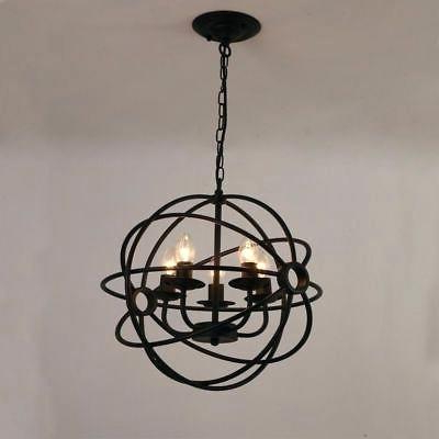 Globe Light Chandelier – Dabun Inside Widely Used Alden 6 Light Globe Chandeliers (View 25 of 30)