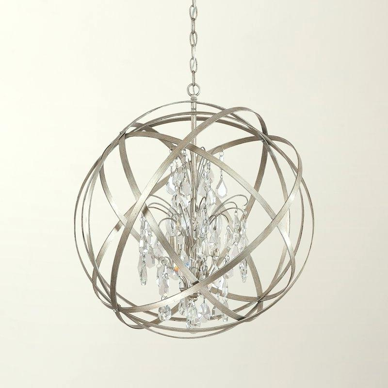 Globe Light Chandelier – Vikipedia (View 14 of 30)