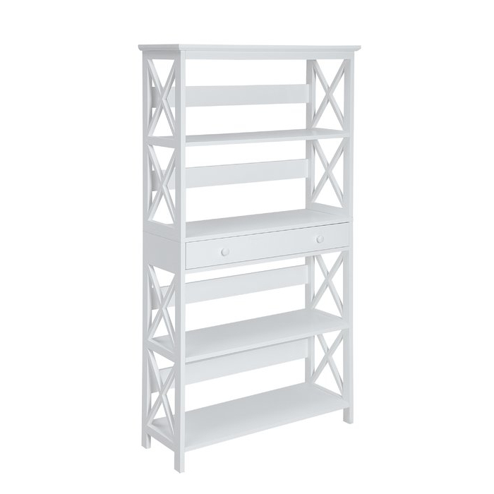 Gracelynn 5 Tier Etagere Bookcases With Best And Newest Gracelynn 5 Tier Etagere Bookcase & Reviews (View 7 of 20)