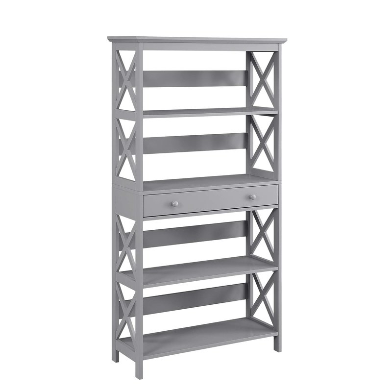 Gracelynn 5 Tier Etagere Bookcases Within Well Known Gracelynn 5 Tier Etagere Bookcase & Reviews (View 8 of 20)