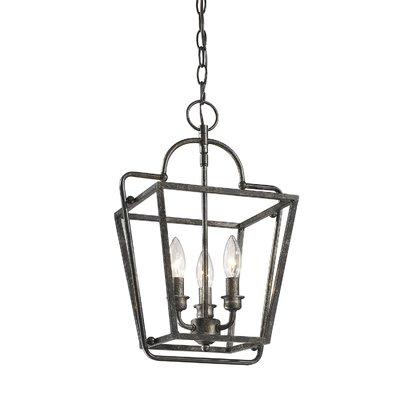 Gracie Oaks Seraphina 3 Light Lantern Pendant In 2019 With Well Liked Finnick 3 Light Lantern Pendants (View 18 of 30)
