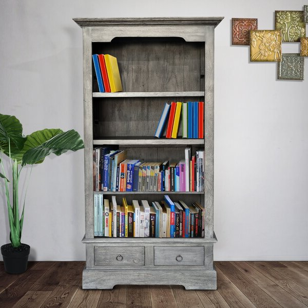 Grandview Standard Bookcaseaugust Grove Regarding Most Recently Released Belue Standard Bookcases (View 13 of 20)