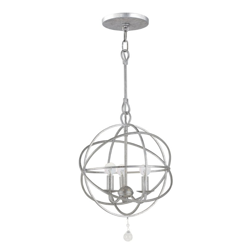 Gregoire 3 Light Globe Chandelier For 2020 Gregoire 6 Light Globe Chandeliers (View 15 of 30)