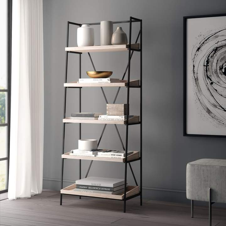 Greyleigh Sherry Etagere Bookcase In  (View 3 of 20)