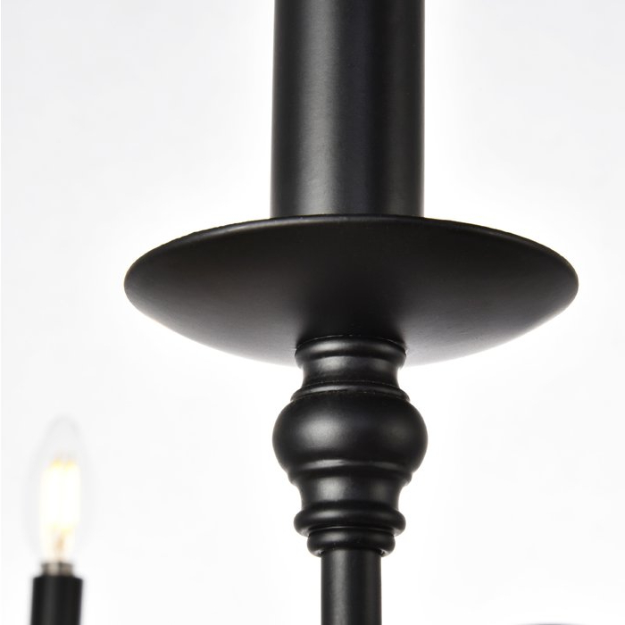 Hamza 6 Light Candle Style Chandelier Throughout Newest Hamza 6 Light Candle Style Chandeliers (View 7 of 30)