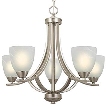 Hardware House 544452 54 4452 Bristol 5 Light Chandelier, 24 In Trendy Newent 5 Light Shaded Chandeliers (View 21 of 30)