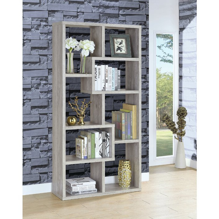 Harkless Standard Bookcases For Widely Used Harkless Geometric Bookcase (View 7 of 20)