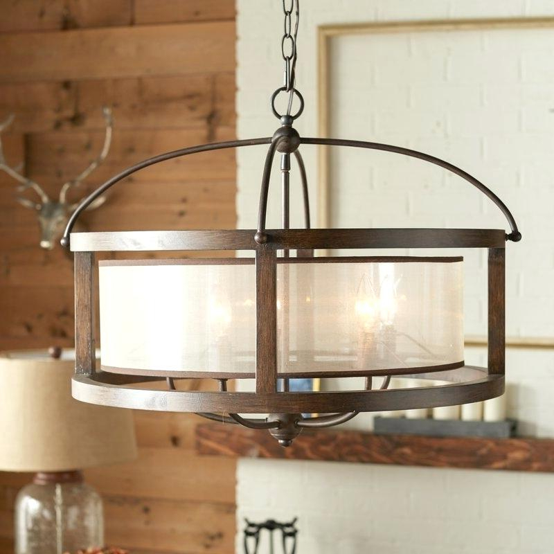 Harlan 5 Light Drum Chandeliers For Well Known 5 Light Drum Chandelier – Jogosdohomemdeferro (View 12 of 30)