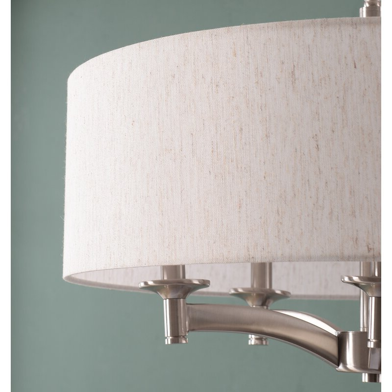 Harlan 5 Light Drum Chandeliers Pertaining To Preferred Harlan 5 Light Drum Chandelier (Gallery 5 of 30)