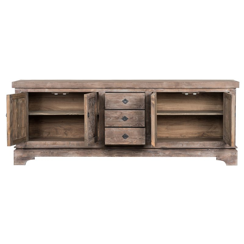 Haroun Mocha Sideboard With Regard To Widely Used Haroun Mocha Sideboards (View 4 of 20)