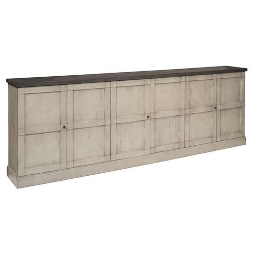 Haroun Mocha Sideboards With Regard To Recent Zian Rustic French Grey Pine Wood Buffet Sideboard (Gallery 15 of 20)