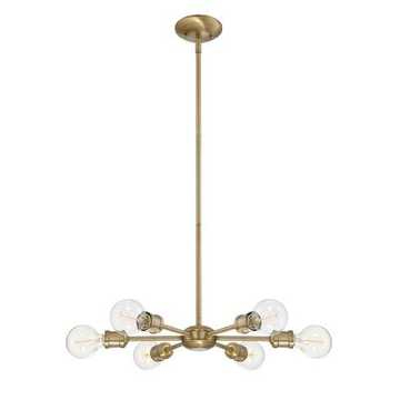 Havenly With Eladia 6 Light Sputnik Chandeliers (View 13 of 30)