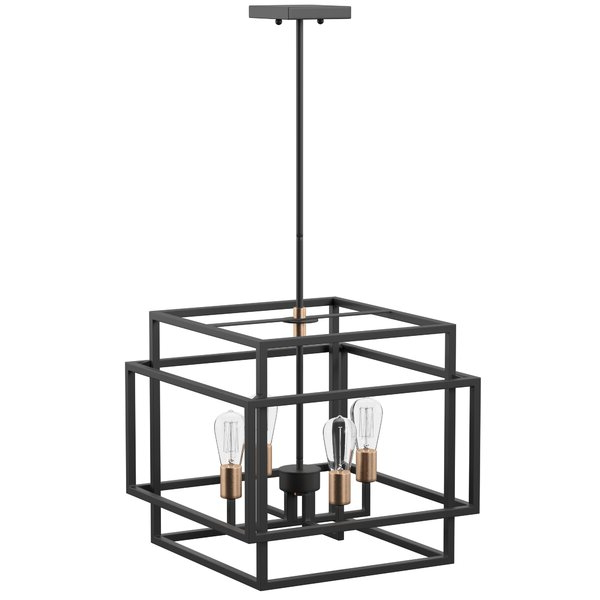 Hendry 4 Light Globe Chandeliers For Well Known Modern & Contemporary Entry Chandelier (View 23 of 30)