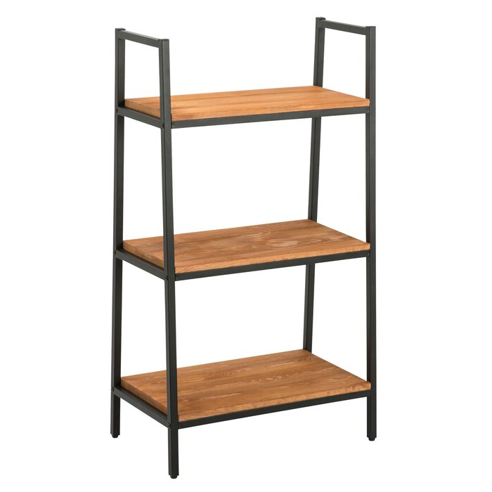 Henn Etagere Bookcases With Most Recent Hester Street Ladder Bookcase (Gallery 8 of 20)