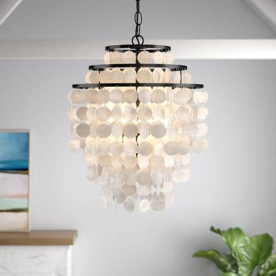 Henry 6 Light Crystal Chandelier & Reviews (Gallery 29 of 30)