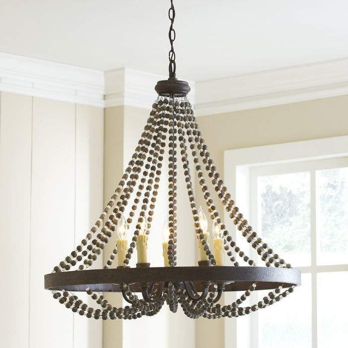 Heritage Ladonna 5 Light Novelty Chandelier (View 9 of 30)