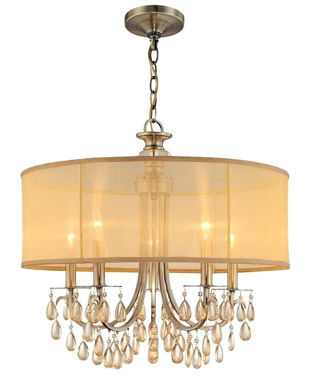 Hermione 5 Light Drum Chandeliers Intended For Latest 5 Light Drum Chandelier – Jogosdohomemdeferro (View 14 of 30)