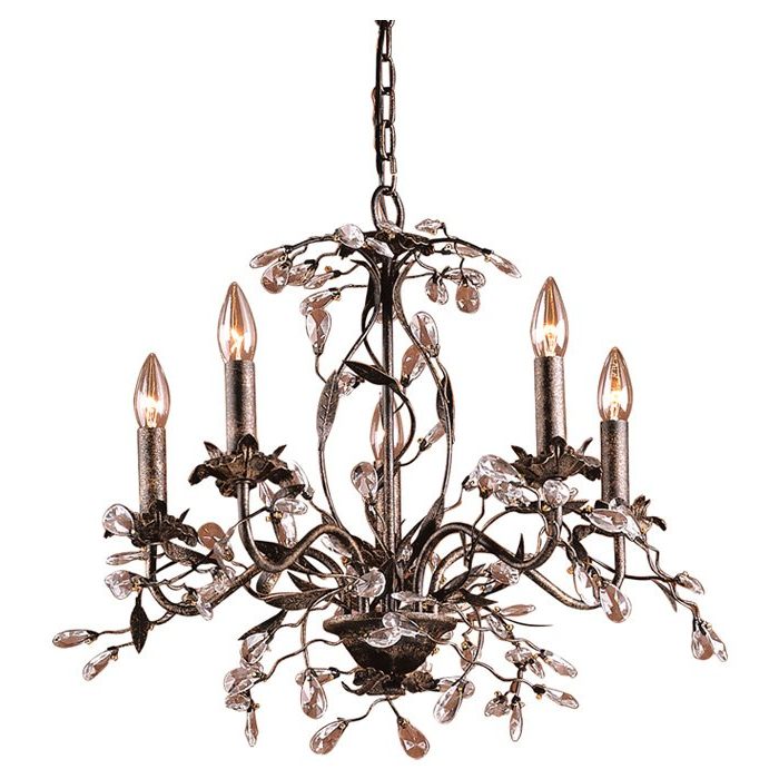 Hesse 5 Light Candle Style Chandelier Throughout Most Recently Released Hesse 5 Light Candle Style Chandeliers (Gallery 1 of 30)