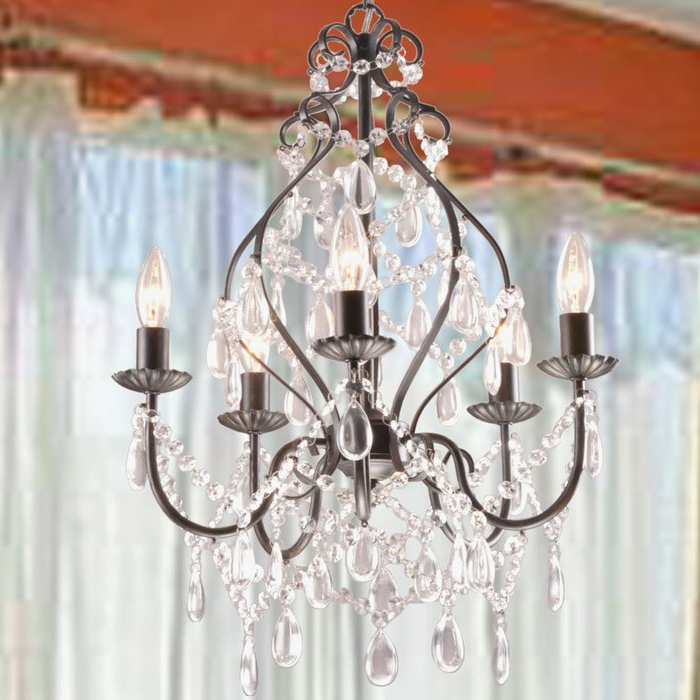 Hesse 5 Light Candle Style Chandeliers In Trendy Wilkerson 5 Light Chandelier (View 14 of 30)