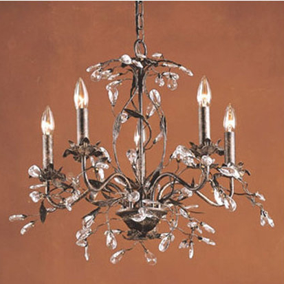 Hesse 5 Light Candle Style Chandeliers Pertaining To Current Hesse 5 Light Candle Style Chandelier (Gallery 3 of 30)