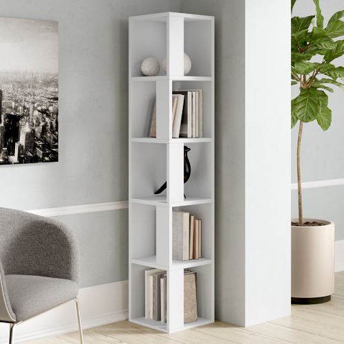 Hokku Designs Piano Corner Bookcase (View 12 of 20)
