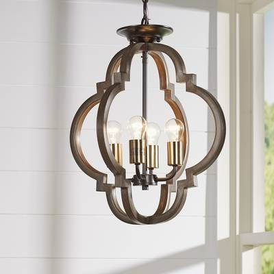 Home Decor In 2019 With Most Up To Date Lynn 6 Light Geometric Chandeliers (Gallery 7 of 30)