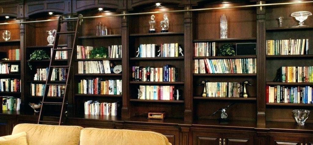 Home Library Bookcases – Harlankelso.co In Preferred Poynor Library Bookcases (Gallery 11 of 20)