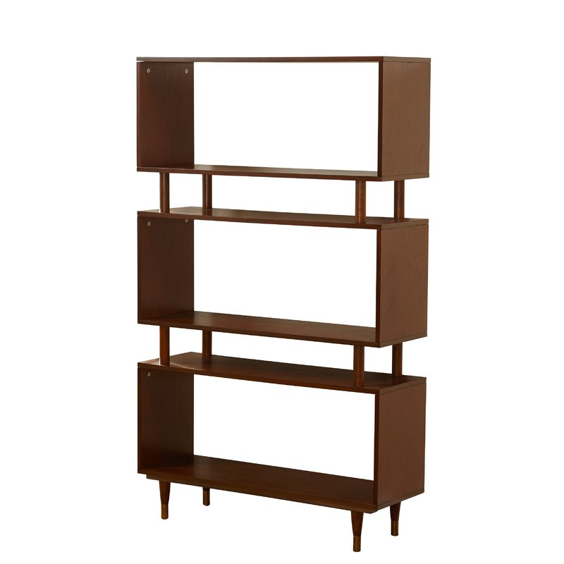 Ignacio Standard Bookcases Throughout 2019 Crowley Standard Bookcase (View 14 of 20)