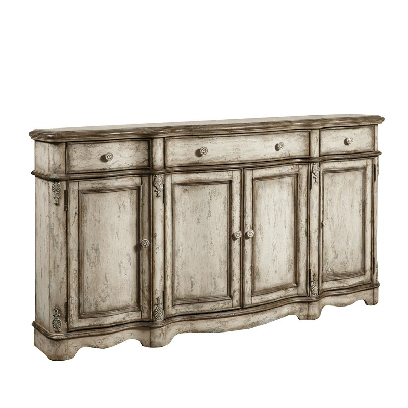 Ilyan Traditional Wood Sideboard Pertaining To 2020 Hayslett Sideboards (Gallery 3 of 20)