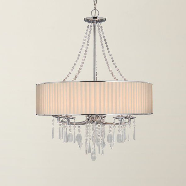 Interior In Most Recent Abel 5 Light Drum Chandeliers (Gallery 5 of 30)