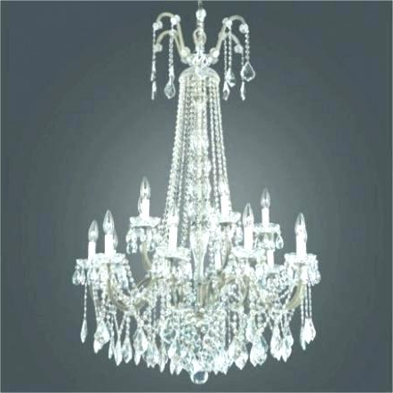 Iron And Crystal Chandelier – Tommyboger.co Intended For Preferred Albano 4 Light Crystal Chandeliers (Gallery 26 of 30)