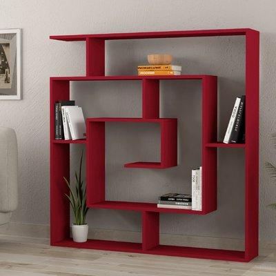 Ivy Bronx Mckibben Geometric Bookcase (Gallery 8 of 20)